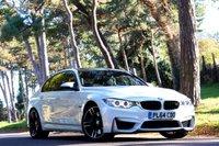 2014 BMW M3 3.0 M3 4d AUTO 426 BHP £33950.00