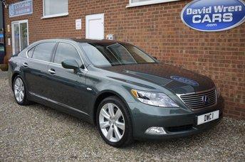 2008 LEXUS LS 5.0 600H L 4d AUTO 445 BHP £9995.00