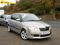 USED 2009 59 SKODA FABIA 1.6 SPORT 16V 5d 103 BHP GREAT SPEC, ALLOY WHEELS, AIR CON, REAR PRIVACY GLASS, ELECTRIC WINDOWS, CD PLAYER