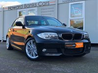USED 2011 61 BMW 1 SERIES 2.0 118D M SPORT 2d 141 BHP *1 YEAR PREMIUM WARRANTY*