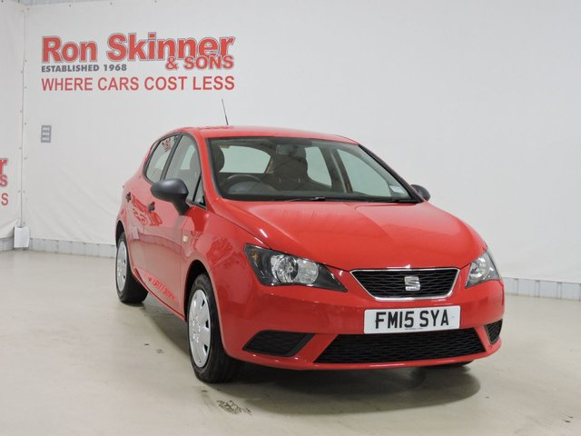 View our 2015 15 SEAT IBIZA 1.2 CR TDI S 5d 74 BHP