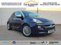 USED 2014 14 VAUXHALL ADAM 1.4 GLAM 3d 85 BHP All Vauxhall History DAB A/C Buy Now, Pay in 2 Months!
