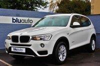 2014 BMW X3 XDRIVE 2.0D SE AUTO 188 BHP £19480.00
