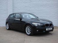 2014 BMW 1 SERIES 1.6 116D EFFICIENTDYNAMICS 5d 116 BHP £8688.00