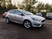 USED 2015 65 FORD FOCUS 1.5 TDCI ZETEC 5d WITH SAT NAV AND APPEARENCE PACK  NO DEPOSIT  PCP/HP FINANCE ARRANGED, APPLY HERE NOW
