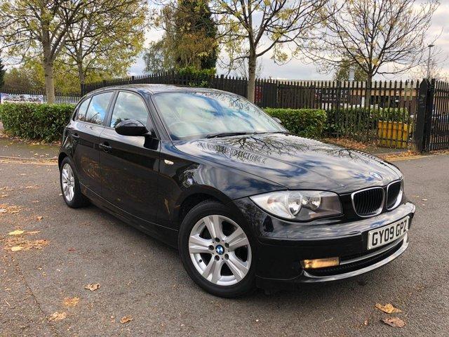 2009 09 BMW 1 SERIES 2.0 118D SE 5d 141 BHP