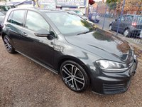"USED 2014 64 VOLKSWAGEN GOLF 2.0 GTD 5d 181 BHP 18"" ALLOY WHEELS, FULL SERVICE HISTORY, SPORTS INTERIOR"