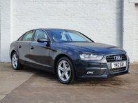 2012 AUDI A4 1.8 TFSI SE S/S 4d 168 BHP £10250.00