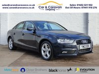 USED 2012 12 AUDI A4 1.8 TFSI SE S/S 4d 168 BHP All AUDI History Bluetooth A/C Buy Now, Pay Later!