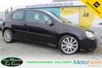 USED 2008 58 VOLKSWAGEN GOLF 3.2 R32 3d 250 BHP PETROL BLACK FULL SERVICE HISTORY+ TWO FORMER KEEPERS
