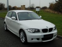 USED 2011 11 BMW 1 SERIES 2.0 118D M SPORT 5d AUTO 141 BHP LOW MILES, MSPORT, AUTOMATIC