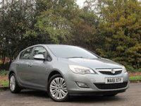 USED 2011 61 VAUXHALL ASTRA 1.4 EXCITE 5d 98 BHP ALLOY WHEELS, BLUETOOTH CONNECTION