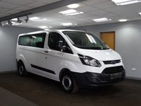 USED 2013 63 FORD TRANSIT MINIBUS 2.2 310 TDCI 9 SEATER 5d 124 BHP++VERY LOW MILEAGE++