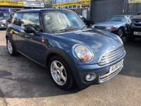 USED 2010 10 MINI HATCH COOPER 1.6 COOPER D 3 DOOR 108 BHP IN METALLIC BLUE WITH ONLY ONE OWNER AND FULL MINI SERVICE HISTORY. APPROVED CARS ARE PLEASED TO OFFER THIS  MINI HATCH COOPER 1.6 COOPER D 3 DOOR 108 BHP IN METALLIC BLUE WITH ONLY ONE OWNER IN IMMACULATE CONDITION INSIDE AND OUT WITH A FULL MINI MAIN DEALER SERVICE HISTORY PRINTOUT SERVICED AT 12K,25K,30K,36K,49K,59K,73K,82K,96K AND 110K A STUNNING LITTLE MINI DIESEL IN STUNNING CONDITION.