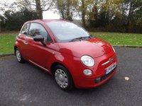 2009 FIAT 500 1.2 POP 3d 69 BHP £3295.00