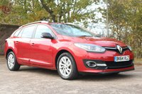 2014 RENAULT MEGANE 1.6 LIMITED ENERGY DCI S/S 5d 130 BHP £7450.00