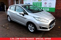 USED 2016 16 FORD FIESTA 1.0 ZETEC 5d 79 BHP +FREE TAX +5 DOOR +FSH.