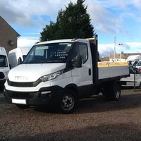 USED 2016 16 IVECO DAILY 35C13V MWB S/C TIPPER