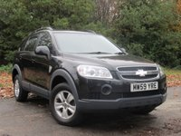 USED 2010 59 CHEVROLET CAPTIVA 2.0 LS VCDI 5d 148 BHP LOW MILEAGE VALUE FOR MONEY SUV