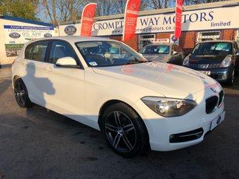 2013 BMW 1 SERIES 1.6 114D SPORT 5d 94 BHP £8995.00