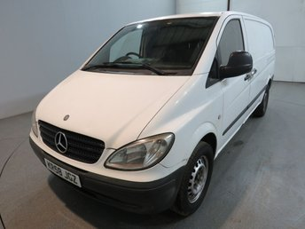2008 MERCEDES-BENZ VITO 2.1 109 CDI LONG 6d 95 BHP RWD PANEL VAN NO VAT £3500.00