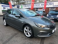 USED 2017 17 VAUXHALL ASTRA 1.6 SRI VX-LINE CDTI S/S 5d 134 BHP 0%  FINANCE AVAILABLE ON THIS CAR PLEASE CALL 01204 317705