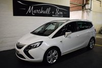 USED 2013 63 VAUXHALL ZAFIRA TOURER 2.0 SRI CDTI 5d 162 BHP BEST VALUE IN UK - LOW MILES - 7 SEATS - SRI