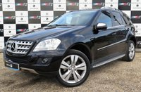 USED 2009 59 MERCEDES-BENZ M CLASS 3.0 ML350 CDI BLUEEFFICIENCY SPORT 5d AUTO 224 BHP