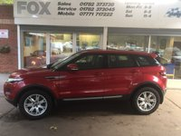 USED 2013 13 LAND ROVER RANGE ROVER EVOQUE 2.2 SD4 PURE 5d 190 BHP VERY LOW MILEAGE RANGE ROVER EVOQUE 2.2 SD4 PURE MANUAL