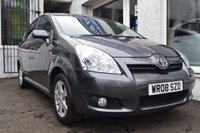 USED 2008 08 TOYOTA COROLLA 1.8 VERSO T3 VVT-I 5d 128 BHP LOVELY COROLLA VERSO PETROL 7 SEATER