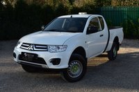 USED 2015 15 MITSUBISHI L200 2.5 DI-D 4X4 4WORK CLUB CAB 1d 134 BHP LOW MILEAGE