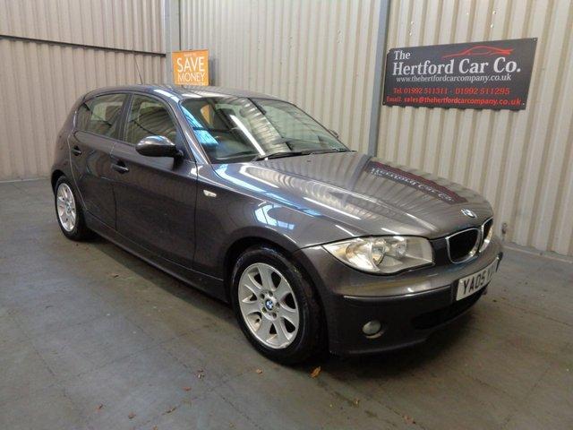 2005 05 BMW 1 SERIES 2.0 118D SE 5d 121 BHP