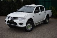 USED 2015 65 MITSUBISHI L200 2.5 DI-D 4X4 4LIFE LB DCB 1d 134 BHP AIR CONDITIONING LOW MILEAGE