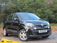 USED 2015 15 RENAULT TWINGO 1.0 PLAY SCE 5d 70 BHP LOW MILEAGE AND LOW RUNNING COSTS