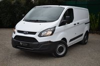 USED 2017 FORD TRANSIT CUSTOM 2.0 290 LR P/V 1d 104 BHP LOW MILEAGE PLY LINED