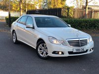 USED 2011 11 MERCEDES-BENZ E CLASS 2.1 E250 CDI BLUEEFFICIENCY SE 4d AUTO 204 BHP