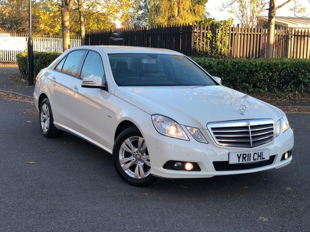 2011 11 MERCEDES-BENZ E CLASS 2.1 E250 CDI BLUEEFFICIENCY SE 4d AUTO 204 BHP