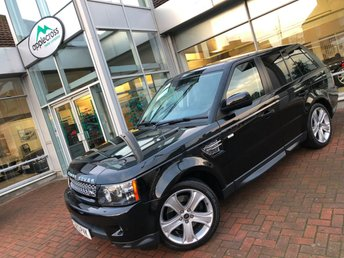 2013 LAND ROVER RANGE ROVER SPORT 3.0 SDV6 HSE BLACK EDITION 5d AUTO 255 BHP £25500.00