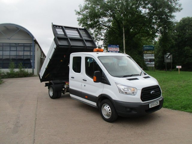 2015 15 FORD TRANSIT  2.2 TDCi 125ps Double Cab Tipper