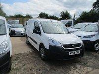 2016 PEUGEOT PARTNER 1.6 BlueHDi 100 Professional Van [non SS] £7950.00