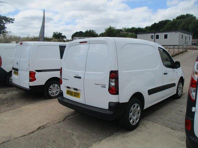 2016 66 PEUGEOT PARTNER 1.6 BlueHDi 100 Professional Van [non SS]