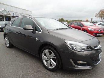 2012 VAUXHALL ASTRA 1.6 SRI 5d AUTO 115 BHP £5995.00