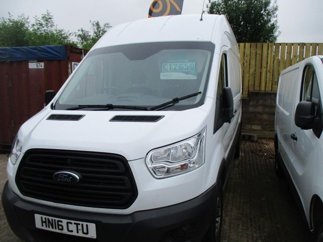 2016 16 FORD TRANSIT  2.2 TDCi 125ps H3 Van