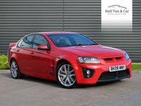 2008 VAUXHALL VXR8 6.0 VXR8 4d AUTO 414 BHP £17995.00