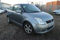 2006 SUZUKI SWIFT 1.5 GLX VVTS 3d 101 BHP £1050.00