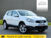 USED 2013 63 NISSAN QASHQAI 1.6 ACENTA 5d 117 BHP LOW MILEAGE,BLUETOOTH,CLIMATE