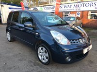 USED 2008 58 NISSAN NOTE 1.6 TEKNA 5d AUTO 109 BHP 0%  FINANCE AVAILABLE ON THIS CAR PLEASE CALL 01204 317705