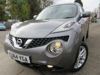 USED 2014 64 NISSAN JUKE 1.6 ACENTA PREMIUM XTRONIC 5d AUTO 117 BHP Service history Two owners from new Test drive welcome