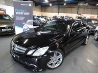 2010 MERCEDES-BENZ E CLASS 3.0 E350 CDI BLUEEFFICIENCY SPORT 2d AUTO 231 BHP £9390.00