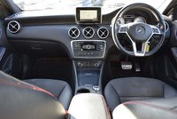USED 2014 63 MERCEDES-BENZ A CLASS 1.8 A200 CDI AMG Sport 7G-DCT 5dr SATNAV,LEATHER,FINANCE,AUTO